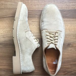 Frye Suede Oxford Shoes 8